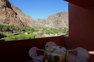 Blick nach La Calera