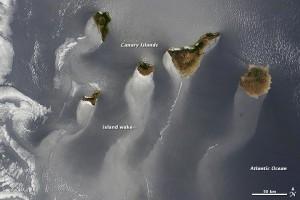 Satellitenbild Islas Canarias